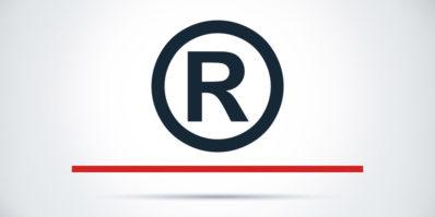 Símbolo da marca após registrar uma marca no INPI