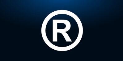 Na imagem vemos um R de marca registrada.